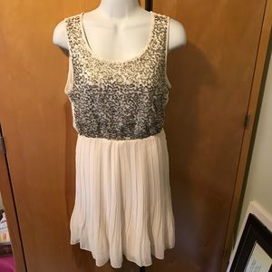 Maison Jules size small juniors sequin mini dress